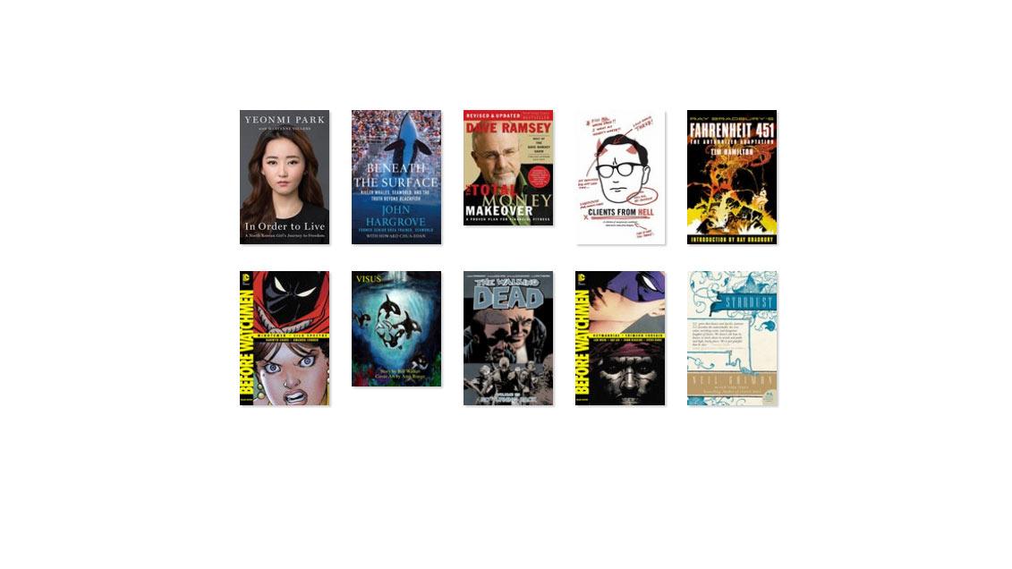 2016 Book List